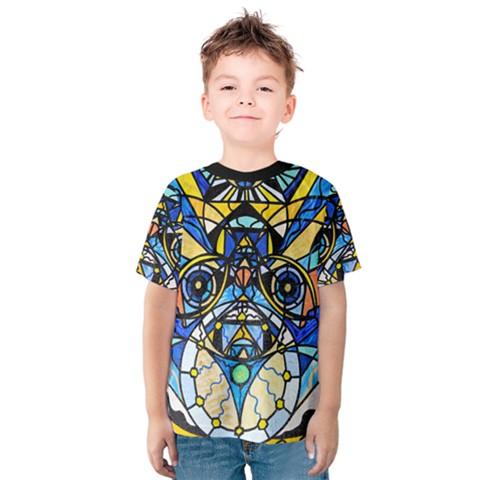 Sirian Solar Invocation Seal   Kids  Cotton Tee by tealswan