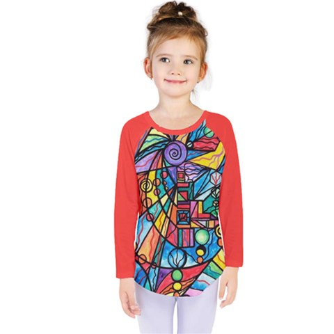 Lyra - Kids  Long Sleeve Tee by tealswan