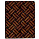 WOVEN2 BLACK MARBLE & BROWN MARBLE Apple iPad 2 Flip Case View1