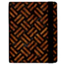 WOVEN2 BLACK MARBLE & BROWN MARBLE Apple iPad 2 Flip Case View2