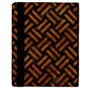 WOVEN2 BLACK MARBLE & BROWN MARBLE Apple iPad 2 Flip Case View3