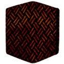 WOVEN2 BLACK MARBLE & BROWN MARBLE Apple iPad 2 Flip Case View4