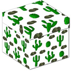 Cactuses 3 Storage Stool 12   by Valentinaart