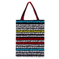 Simple Colorful Design Classic Tote Bag by Valentinaart