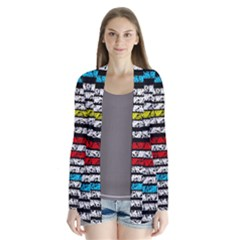 Simple Colorful Design Cardigans by Valentinaart