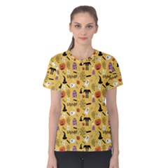 Halloween Pattern Women s Cotton Tee