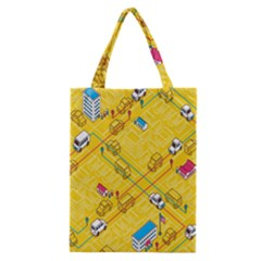 Highway Town Classic Tote Bag