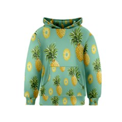 Pineapple Kids  Pullover Hoodie by AnjaniArt