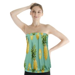Pineapple Strapless Top