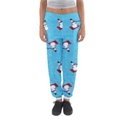 Snowman Women s Jogger Sweatpants by AnjaniArt