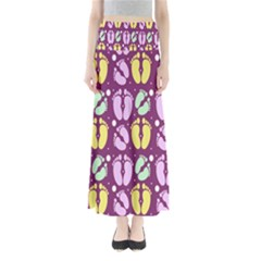 Soles Of The Feet Maxi Skirts
