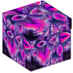 Rose Crystal Palace, Abstract Love Dream  Storage Stool 12   by DianeClancy