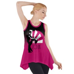 Zouk   Forget The Time Side Drop Tank Tunic by LetsDanceHaveFun
