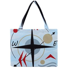 Compass Mini Tote Bag by Valentinaart