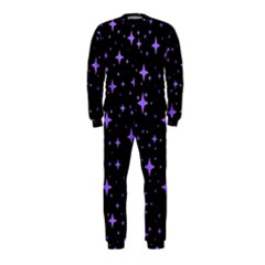 Bright Purple   Stars In Space Onepiece Jumpsuit (kids) by Costasonlineshop