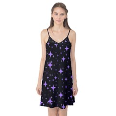 Bright Purple   Stars In Space Camis Nightgown by Costasonlineshop