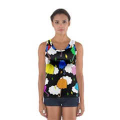 Umbrellas 2 Women s Sport Tank Top  by Valentinaart