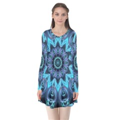 Star Connection, Abstract Cosmic Constellation Flare Dress