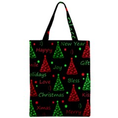 New Year Pattern   Red And Green Classic Tote Bag by Valentinaart