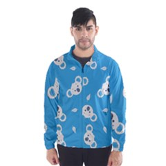 Blue Koala Wind Breaker (men) by AnjaniArt