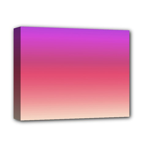 Blue Pink Purple Red Deluxe Canvas 14  X 11  by AnjaniArt