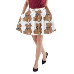 Bear A Line Pocket Skirt