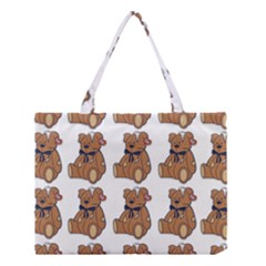 Bear Medium Tote Bag by AnjaniArt