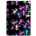 Purple lizards pattern iPad Air 2 Flip View4