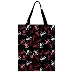 Decorative Lizards Pattern Zipper Classic Tote Bag by Valentinaart