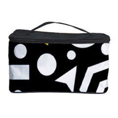 Right Direction   Yellow Cosmetic Storage Case by Valentinaart