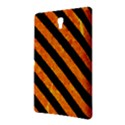 STRIPES3 BLACK MARBLE & ORANGE MARBLE (R) Samsung Galaxy Tab S (8.4 ) Hardshell Case  View2