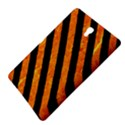 STRIPES3 BLACK MARBLE & ORANGE MARBLE (R) Samsung Galaxy Tab S (8.4 ) Hardshell Case  View4