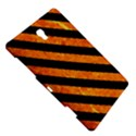 STRIPES3 BLACK MARBLE & ORANGE MARBLE (R) Samsung Galaxy Tab S (8.4 ) Hardshell Case  View5