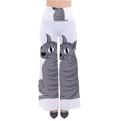 Gray Cat Pants by Valentinaart