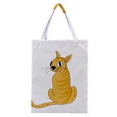 Yellow cat Classic Tote Bag