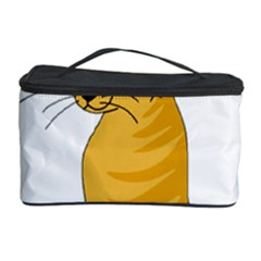 Yellow cat Cosmetic Storage Case