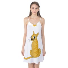 Yellow cat Camis Nightgown