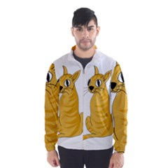 Yellow cat Wind Breaker (Men)