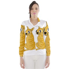 Yellow cat Wind Breaker (Women)
