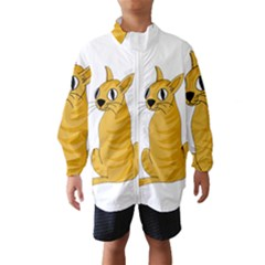 Yellow cat Wind Breaker (Kids)