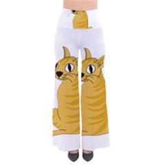 Yellow cat Pants