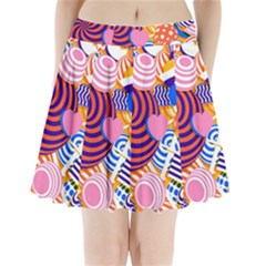 Canddy Color Pleated Mini Skirt