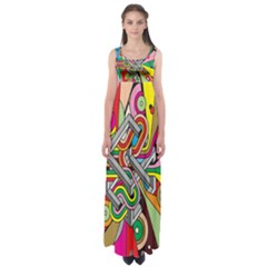 Code Empire Waist Maxi Dress