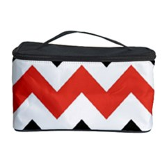 Colored Chevron Printable Cosmetic Storage Case by AnjaniArt