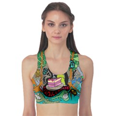 Cosmic Candy Monster Sports Bra