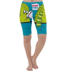 Monster Sea Too Big To Sail Cropped Leggings