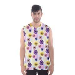 Monster Eye Flower Men s Basketball Tank Top