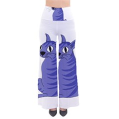 Blue Cat Pants by Valentinaart