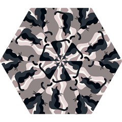 Elegant Cats Mini Folding Umbrellas by Valentinaart