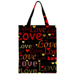 Love Pattern 3 Classic Tote Bag by Valentinaart